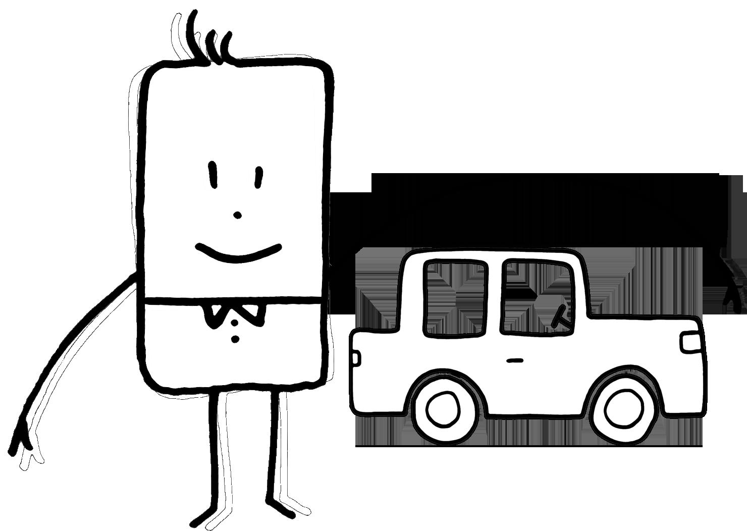 disposez transport voiture