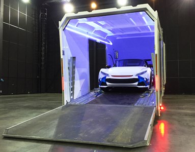 transport voiture de luxe