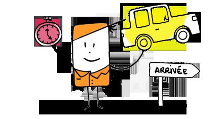 Transporteur de véhicules à disposition