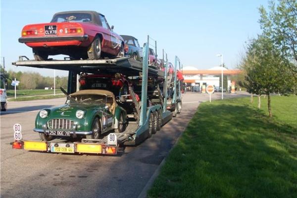 tranport voiture de prestige